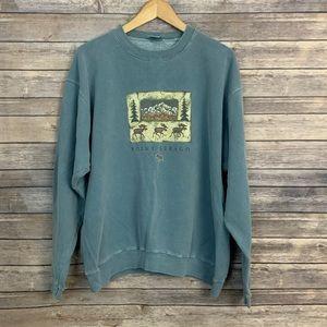 Vintage Point Sebago Fleece Sweatshirt